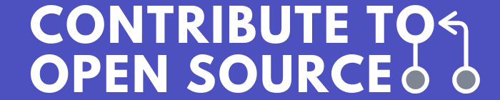 Contribute to Open Source Logo